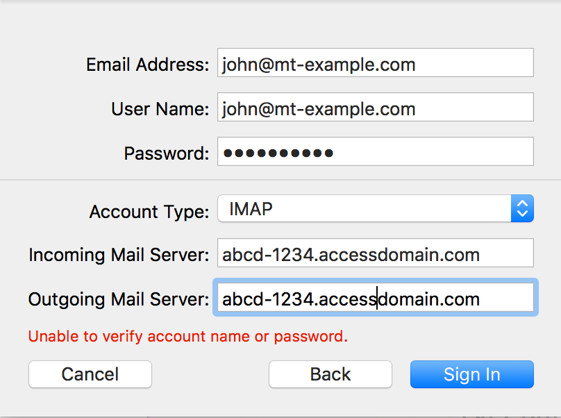 How do I configure email on my Mac using Apple Mail? - Media Temple