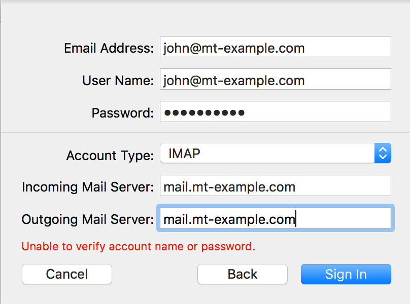 How do I configure email on my Mac using Apple Mail? - Media