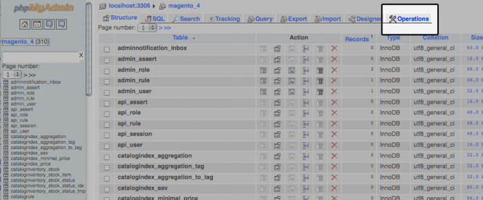 Default MySQL character set and collation - Media Temple