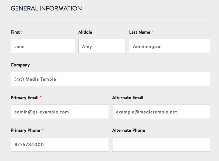 Company Contact Information For Teen 92