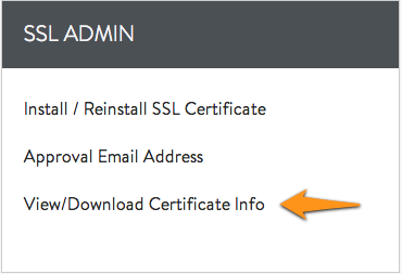 Moving an SSL Certificate From One Server to Another - Media
