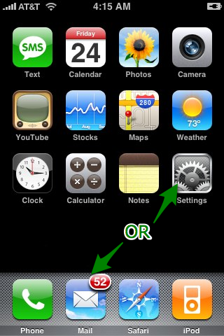 how to set up work email on my iphone