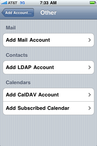 how do i create an email account on my iphone