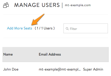 How do I add more licenses or seats in G Suite? - Media Temple
