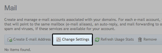 enable disable local mail domain