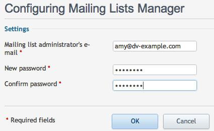 mailing_list_configure