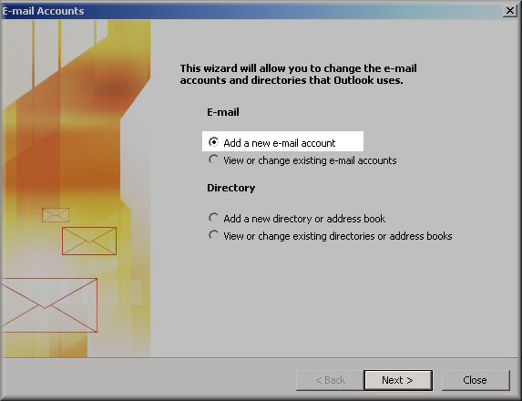 outlook-2003-add-new-email