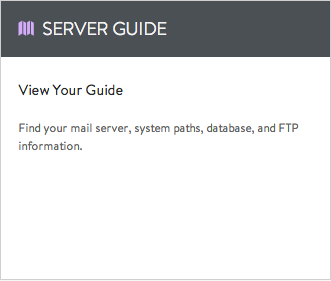 View Your Server Guide