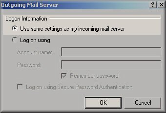 outlook-express-outgoing-mail-server