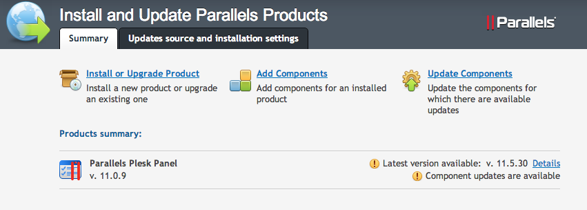 The Parallels Installer