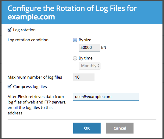 Configuring Log Rotation - Media Temple