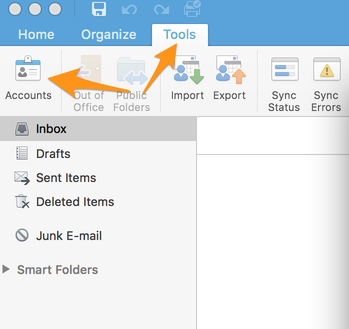 Types Of Email Accounts >> How Can I Set Up Email In Outlook Media Temple